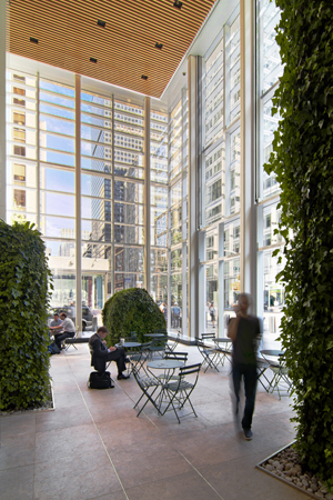 The Bank of America Tower at One Bryant Park, New York, NY: Photograph ©Cook+Fox Architects