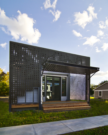 Live Work Home, Syracuse, NY: Photograph ©Cook+Fox Architects