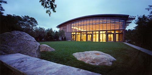 The Center for Well-Being at The Ross Institute, East Hampton, NY: Photograph ©Peter Aaron / ESTO