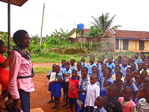 Headmistress of Ugiagbe Primary School, Evbuotubu
