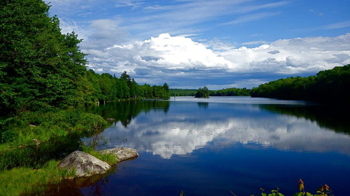 Grand Lake, Annapolis County, Nova Scotia.: Photograph by Katie McLean for the Clean Annapolis River Project