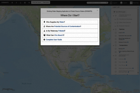 EPA Online Mapping Tool
