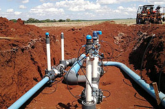 Netafim irrigation system