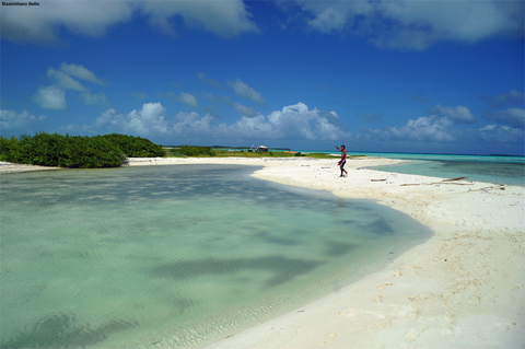 A marine paradise in the Caribbean Sea, Los Roques offers a wealth of natural resources.: Photograph by Maximiliano Bello