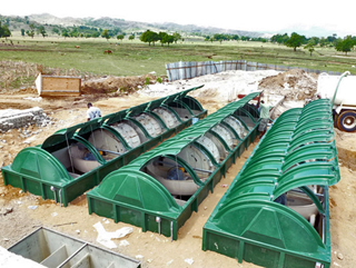 Wastewater Treatment System: Photograph by Partners In Health
